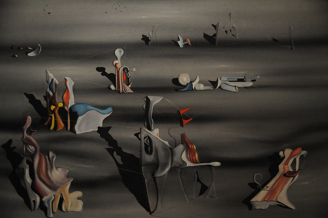 Artwork by Yves Tanguy